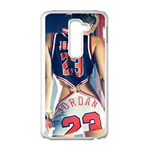 JIANADA Jordan 23 Brand New And High Quality Hard Case Coverr Protector For LG G2