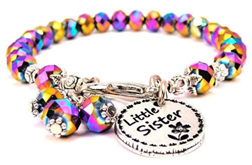 Multi Color Crystal Little Sister Circle Bracelet