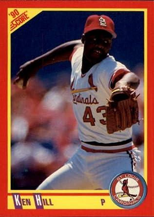 Amazoncom 1990 Score Baseball Card 233 Ken Hill Near Mint