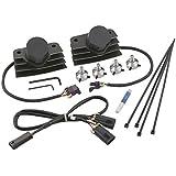 ACCEL 140411BI Black Long Stealth Ignition SuperCoil COP Kit