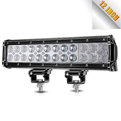 12 Inch Led Light Bar, TURBOSII 72W Light Bar Led Light 12V