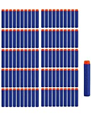 Mumoo Bear 100pcs 7.2cm Refill Bullet Darts for Nerf N-strike Elite Series Blasters Kid Toy Gun