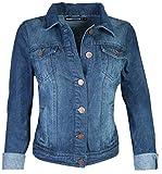 dollhouse Women Basic Denim Jean Jacket, Dark, Large'