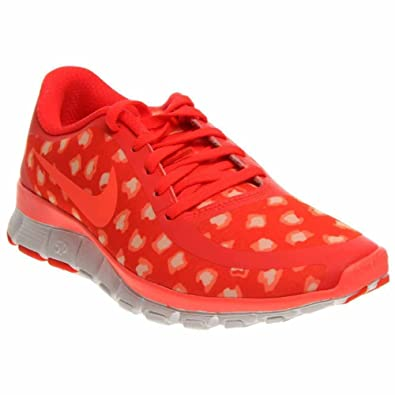 Nike Womens Free 5.0 NS PT Running Shoe Bright Citron/Sunset Glow/Hot Lava