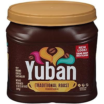 Yuban Traditional Medium Roast Ground Coffee (31 oz Canister) by Kraft
