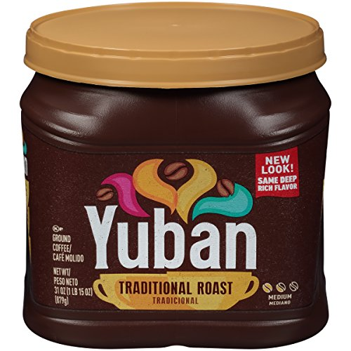 Ground Traditional - Yuban Traditional Medium Roast Ground Coffee (31 oz Canister)