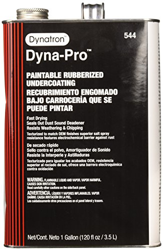 (Dynatron 544 Dyna-Pro Paintable Rubberized Undercoating Can, 120 oz, Gallon Can)