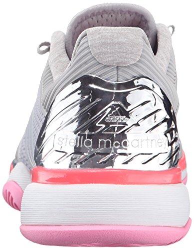 Adidas Performance ASMC barricada 2016 del entrenamiento del calzado, héroe de la tinta púrpura / Silver Metallic/Flash Red Universe