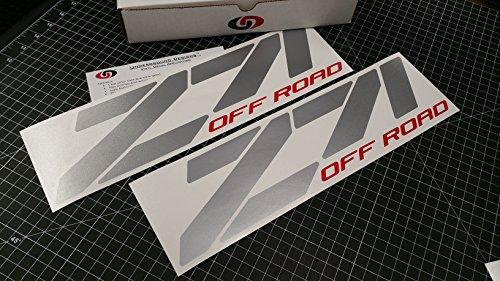 (UNDERGROUND DESIGNS Z71 Off Road Chevy Fender Decal Tailgate Sticker 15
