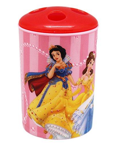 princess light pink toothbrush holder