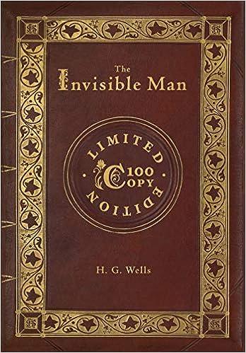 Amazon com: The Invisible Man (100 Copy Limited Edition