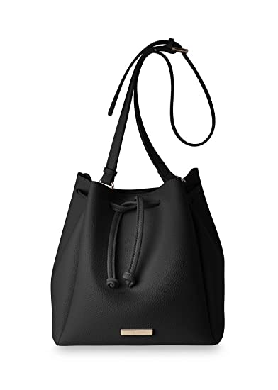 280f65d79790 Katie Loxton - Chloe Bucket Bag - Black  Amazon.co.uk  Clothing