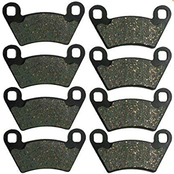 6x4 2006 2007 2008 2009 LE Polaris Rear Brake Pads 700 Ranger 6x6 EFI XP 4x4