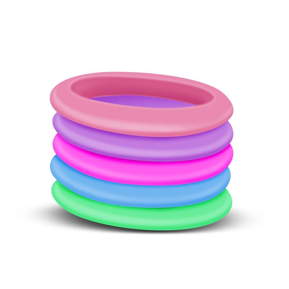 Amazon.com: Silicone Wedding Ring, Premium Medical Grade Wedding ...