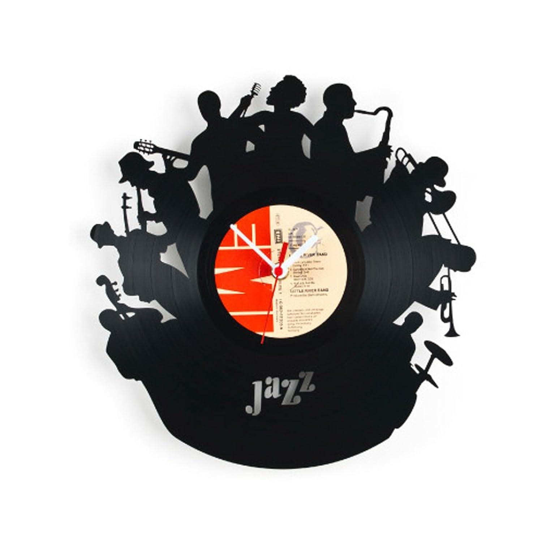 Re Vinyl リヴァイナル Pavel Sidorenko Desing Wall Clock アナログレコード 掛け時計 (BAND(PS-RE07)) B00E0CBGMK BAND(PS-RE07)