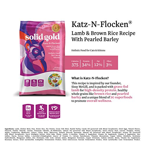 Solid Gold Katz N Flocken Cat Food Reviews