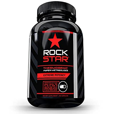 Thermogenic Diet Pills by Rockstar, The #1 Thermogenic Diet Pill and Fast Fat Burner, Weight Loss Pills, 60 Capsules
