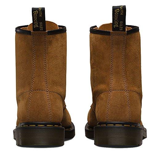 Dr. Martens 1460 Soft Buck, Zapatos de Vestir Unisex Adulto Marron