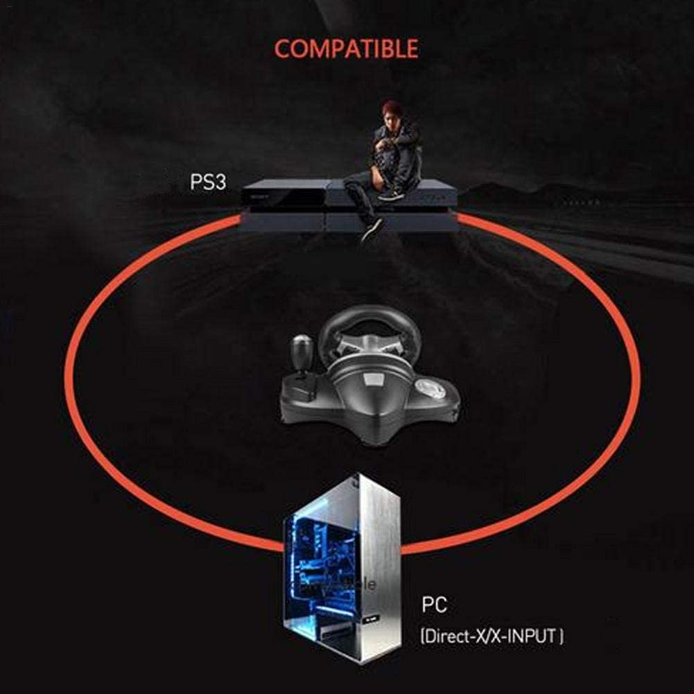 Controllers D-Input/X-Input 90 Degree Racing Steering Computer ...