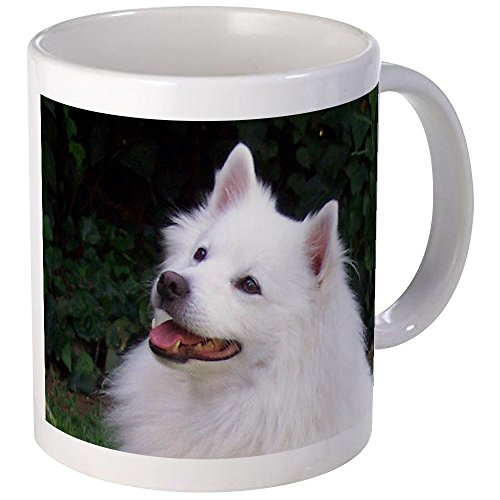 CafePress American Eskimo Mugs Unique Coffee Mug, Coffee Cup