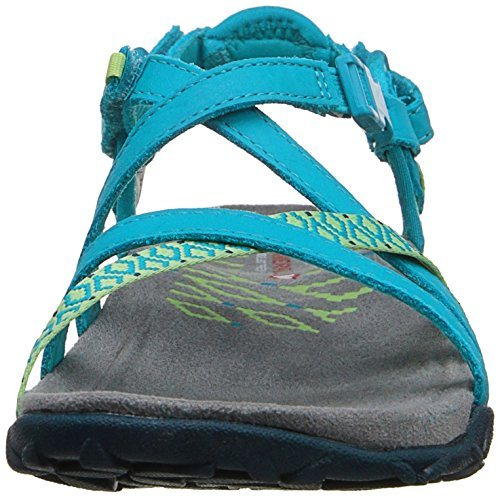 Merrell Terran Reticolo Ii Ladies Open Sandalo Blu (verde Acqua)