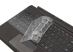 XSKN keyboardTPU2332 Ultra Thin Keyboard Cover for Microsoft Surface Pro 4