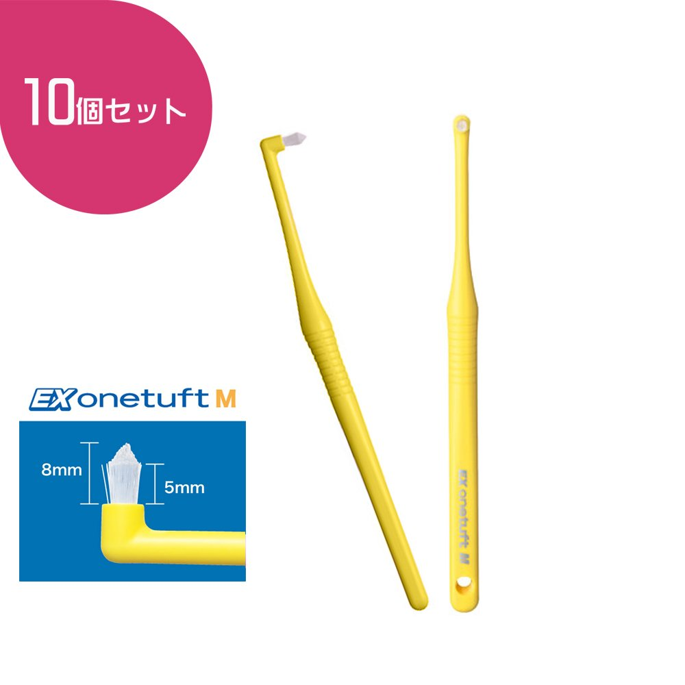 Lion EX End-Tuft Brush M 10 Count by EX