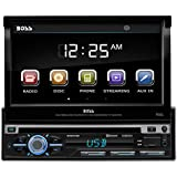 BOSS Audio BV9979B Single Din, Touchscreen, Bluetooth, DVD/CD/MP3/USB/SD AM/FM Car Stereo, 7 Inch Digital LCD Monitor, Detachable Front Panel, Wireless Remote, Multi-Color Illumination