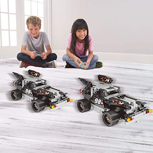 STEM Building Toys for Kids 8,9-14 Year Old - Remote Control Racer Kit, Popular Girls and Boys Engineering Toy for Creative Play, Top RC Car Building Sets for Children Age 6-12
