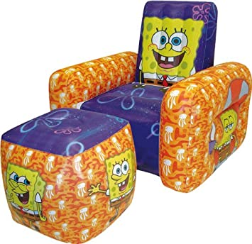 Amazon.com: Nickelodeon Bob Esponja Hinchable silla y ...