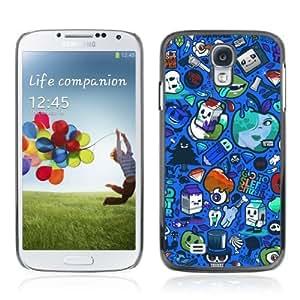 YOYOSHOP [Crazy Colorful Graffiti Pattern] Samsung Galaxy S4 Case Kimberly Kurzendoerfer
