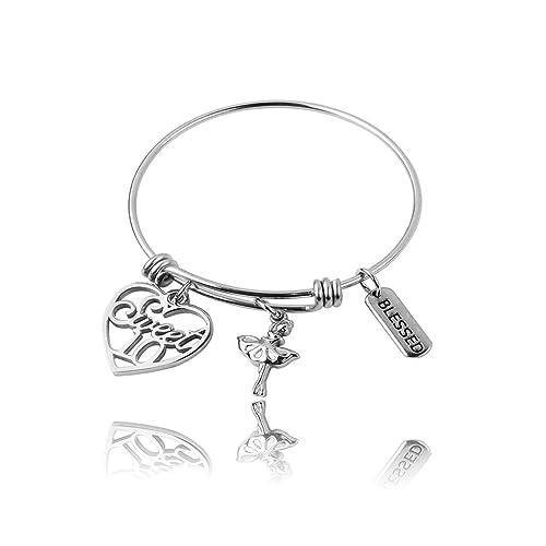 REEBOOOR 10th Birthday Girl 10 Year Old Charm Bracelet 12 Gift Teens Girls Daughters Granddaughter