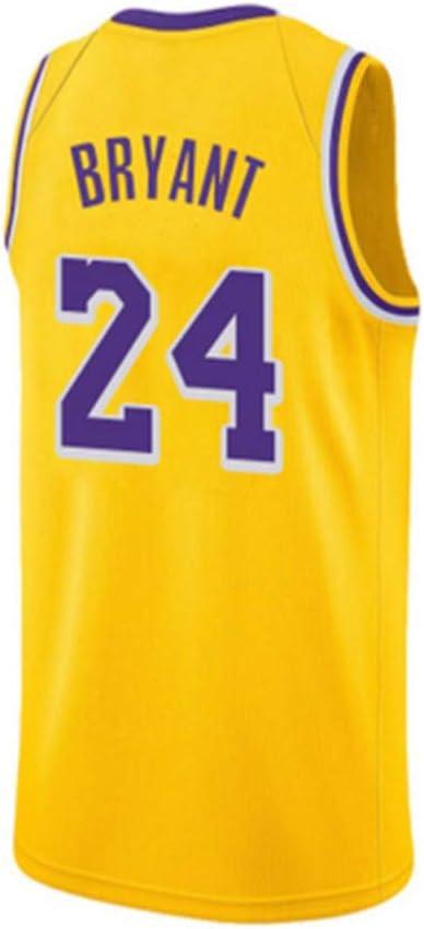 Maillot sin Mangas Kobe Bryant 24# de Lakers No. 8, Camiseta de ...