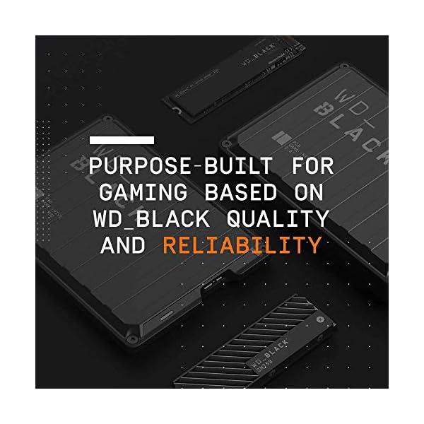 WD_BLACK P10 Game Drive 4 TB, HDD Portatile per Accesso in Mobilità alla Tua Libreria di Giochi, Compatibile con Console o PC 6 spesavip
