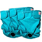 Simple Solution Washable Reusable Female Dog Diapers (Small, 3 Pack)