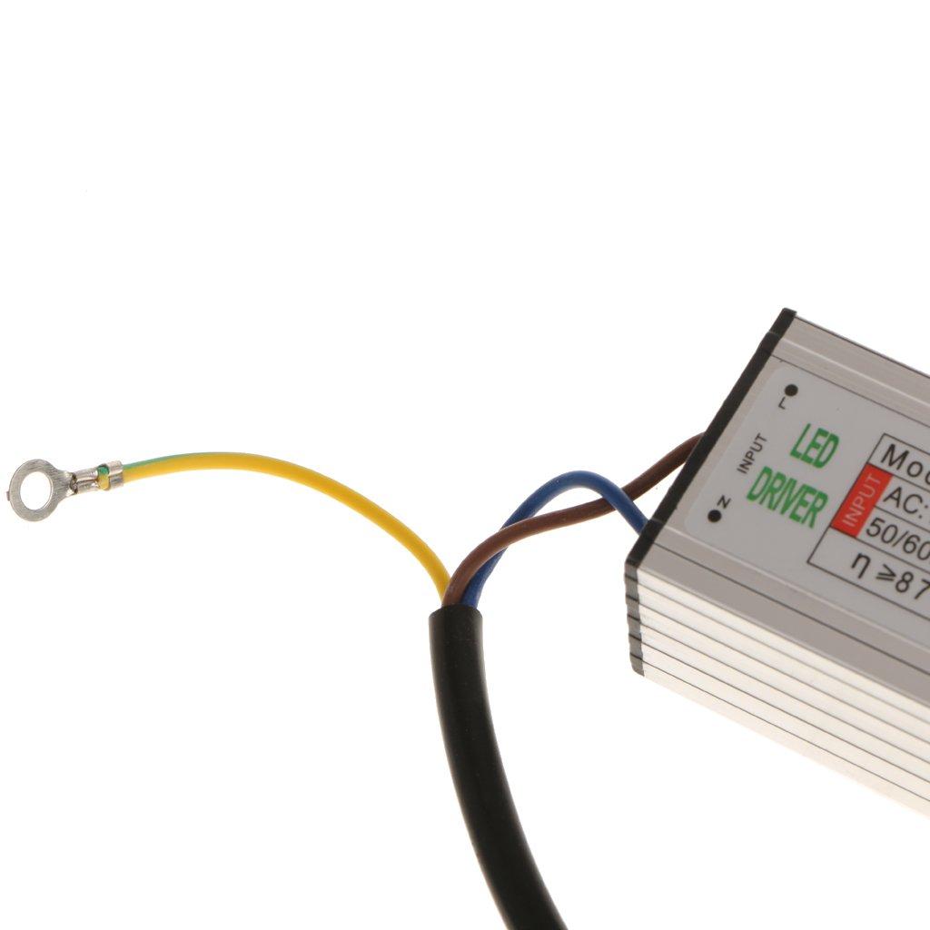 Fuente De Alimentaci/ón Del Conductor Del Transformador De La Prenda Impermeable LED De 50W IP67 Para Las Luces LED DC 21-36V 1450mA