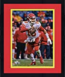 """Framed Patrick Mahomes Kansas City Chiefs Autographed 8"""" x 10"""" White Running Photograph - Fanatics Authentic Certified"""