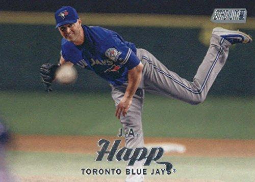 (2017 Topps Stadium Club #208 J.A. Happ Toronto Blue Jays Baseball)