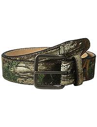 RealTree Camo - Cinturón de camuflaje para hombre (forro de piel)