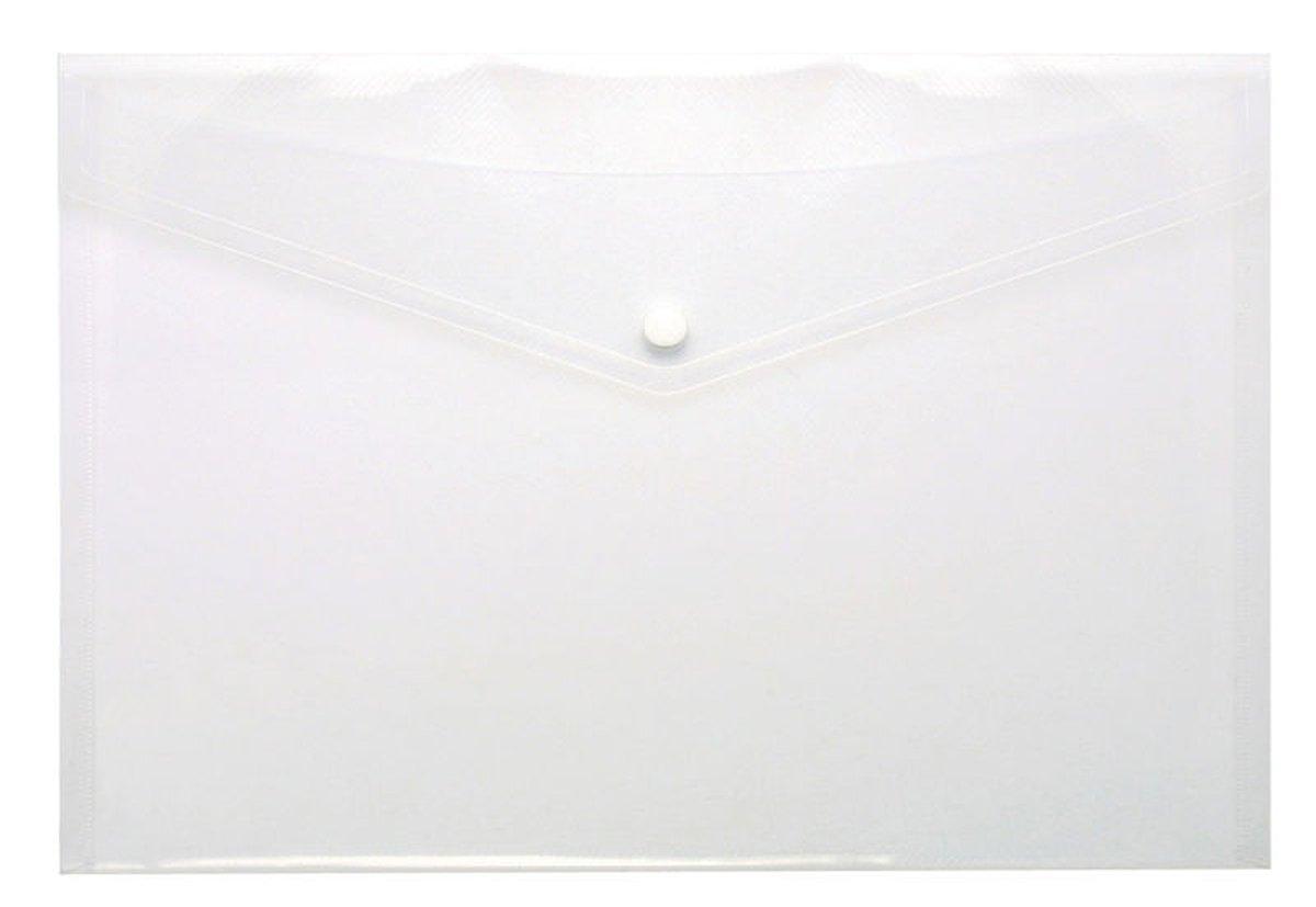 A4 klar Stud Wallet Ordner Ordner Ordner Kunststoff Dokument Halter Datei Druckknopf-Brieftaschen (100 Stück) B00UVRP6JW | Professionelles Design  2c46b4