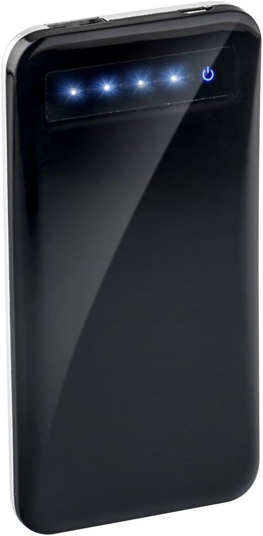 Elbe CARG-44A - Batería portátil con pantalla táctil, 4400 mAh, universal, color negro: Amazon.es: Electrónica