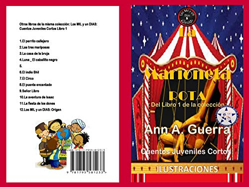 La marioneta rota: Del Libro 1 de la coleccion- Cuento No.5 (Los MIL ...