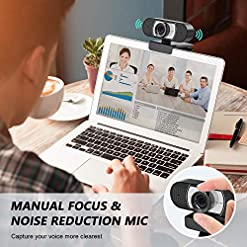 Unzano Webcam with Microphone for Desktop, Full HD 1080p USB Computer Web Camera for Mac PC Laptop, Video Calling… Recommended deals [tag]