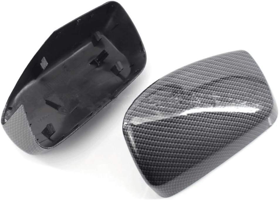BAAQII Carbon Fiber Side Mirror Cap Housing Cover For BMW E60 E61 04-08