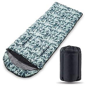 Aokinle Sleeping Bag Envelope Lightweight PortableAdultsWomenKids CampingWaterproof3 4 Season Warm Cold WeatherComfortableBackpacking Sleeping Bags