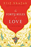 By Elif Shafak The Forty Rules of Love: A Novel of Rumi (1st First Edition) [Hardcover]