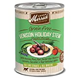 Merrick Grain-Free Venison Holiday Stew Canned Dog...