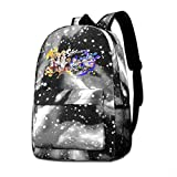 MichaelJMichaels Unisex Galaxy Backpack Splatoon Bookbag for School College Student Travel Business