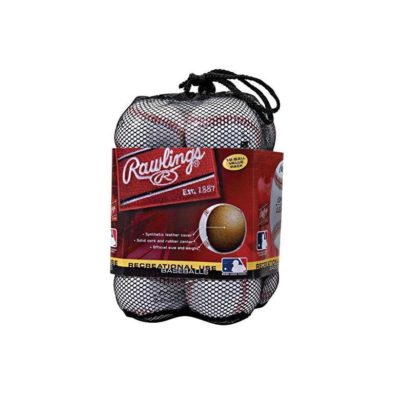 Rawlings-Official-League-Recreational-Grade-Baseballs-OLB3-Box-of-3-or-Bag-of-12