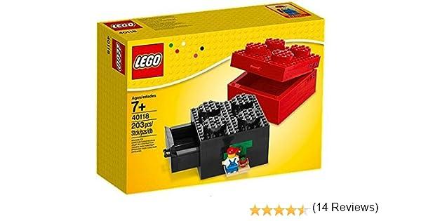 LEGO Construible Ladrillo Caja (tamaño 2x2) - 40118: Amazon.es: Juguetes y juegos